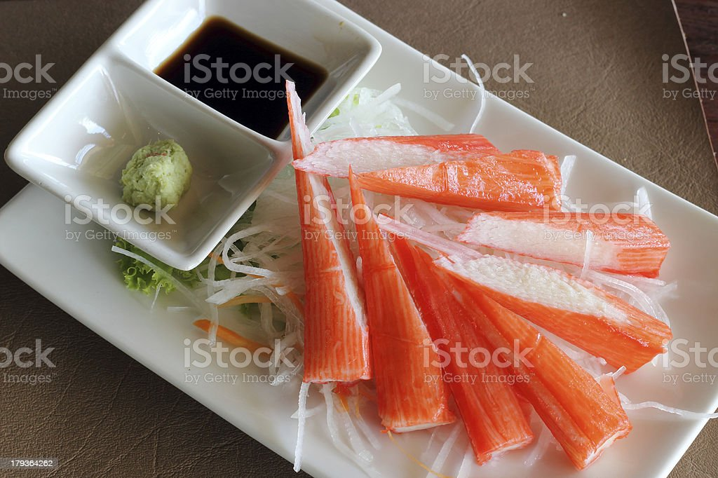 Crab stick royalty-free stock photo