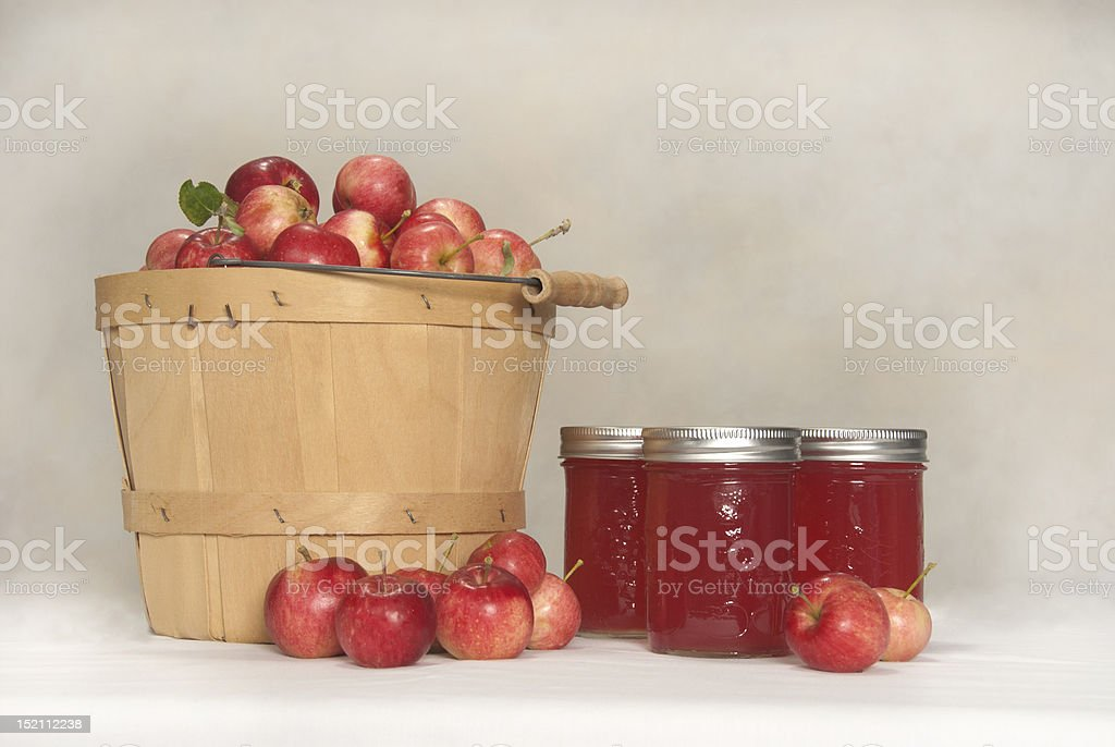 Crabapples and Jelly royalty-free stock photo