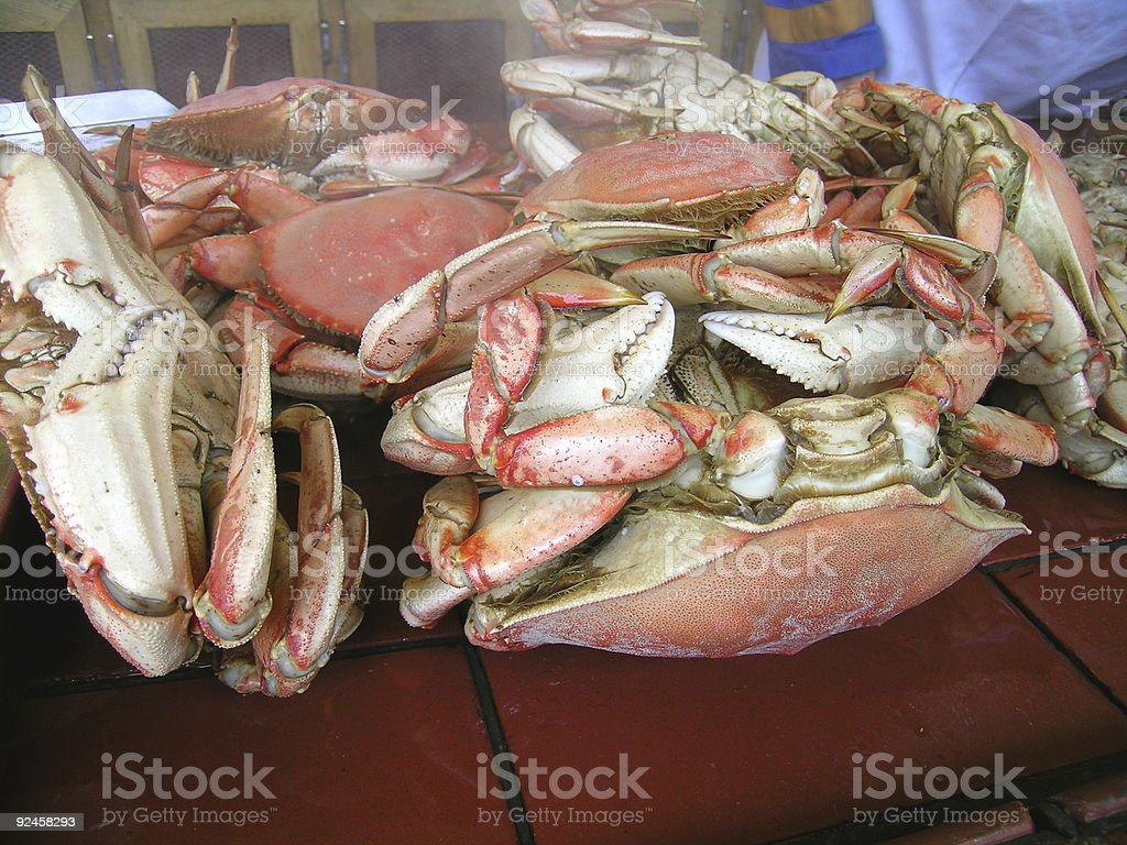 Crabs for Sale stock photo