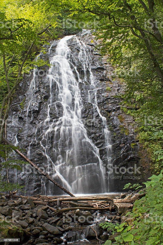 Crabtree Falls, North Carolina stock photo
