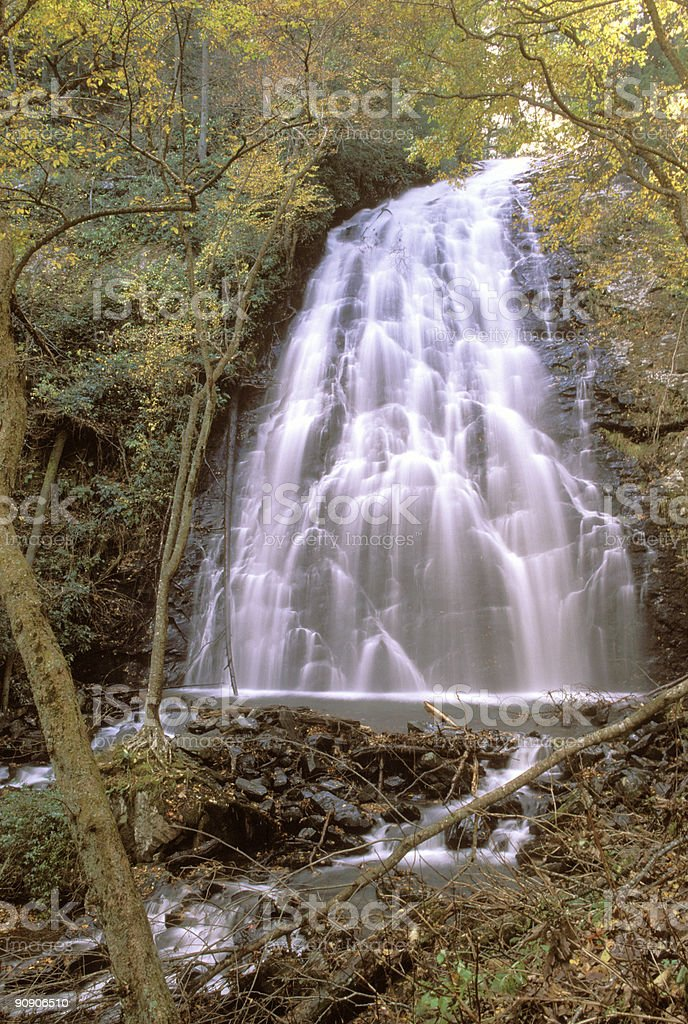 crabtree waterfalls 2 royalty-free stock photo