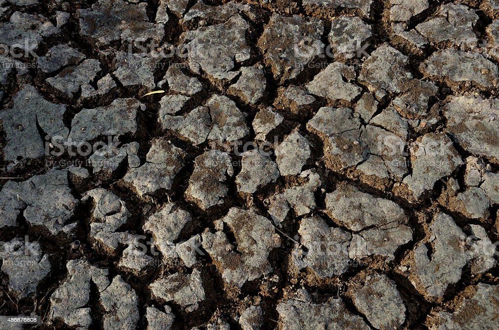 Rotura de tierra seca 2 foto de stock libre de derechos