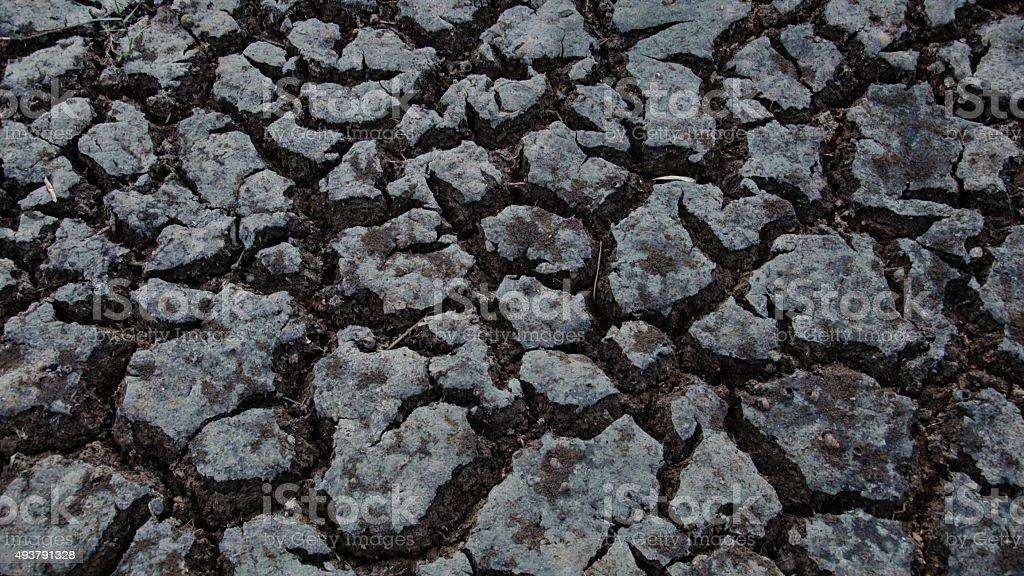 Rotura de tierra seca 4 foto de stock libre de derechos