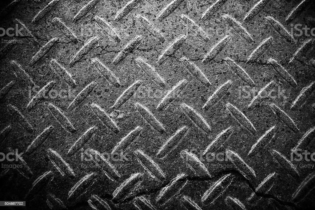 Crack steel background stock photo