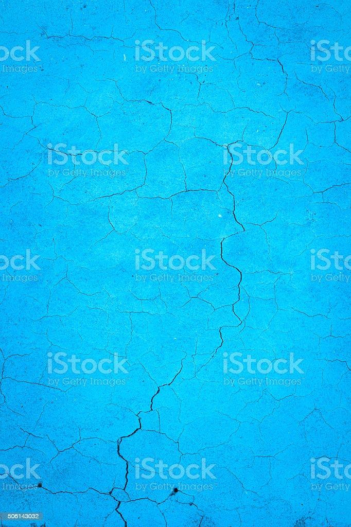 Cracked Blue background royalty-free stock photo