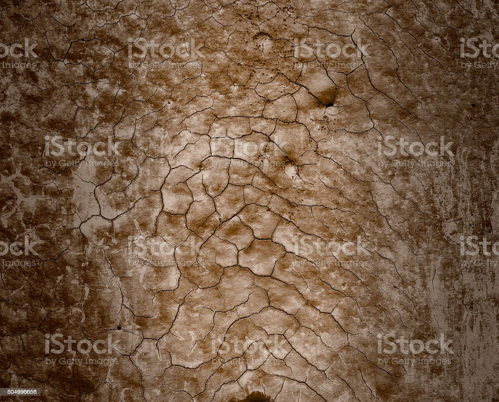 Cracked brown background royalty-free stock photo