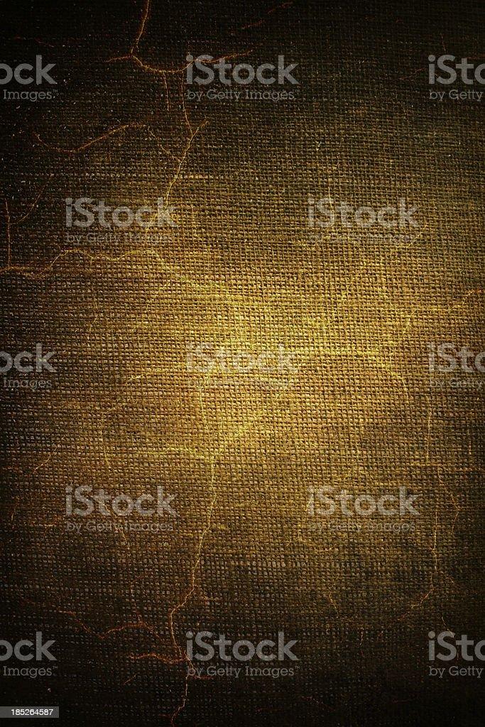 Cracked canvas royalty-free stock photo