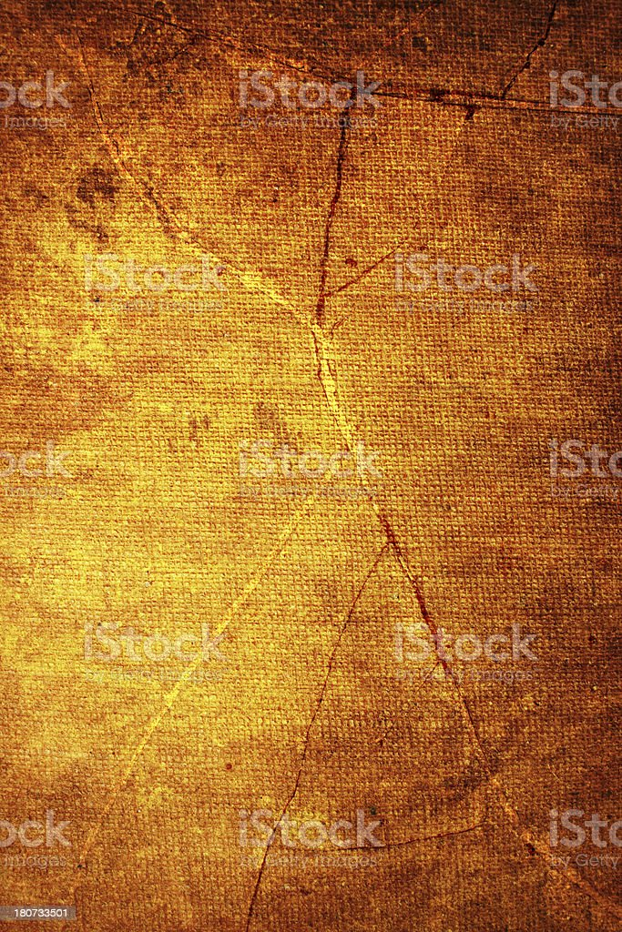 Cracked canvas texture royalty-free stock photo