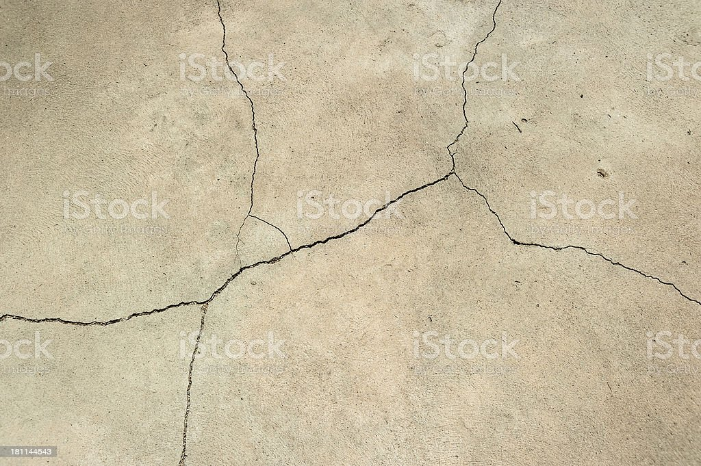 Cracked cement background royalty-free stock photo