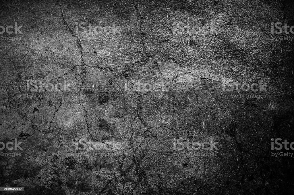 Cracked cement background vector art illustration