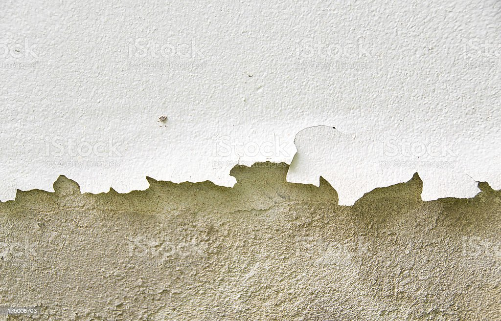 cracked color caused by moisture royalty-free stock photo