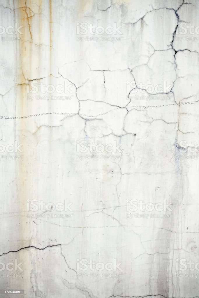 Cracked dirty wall royalty-free stock photo