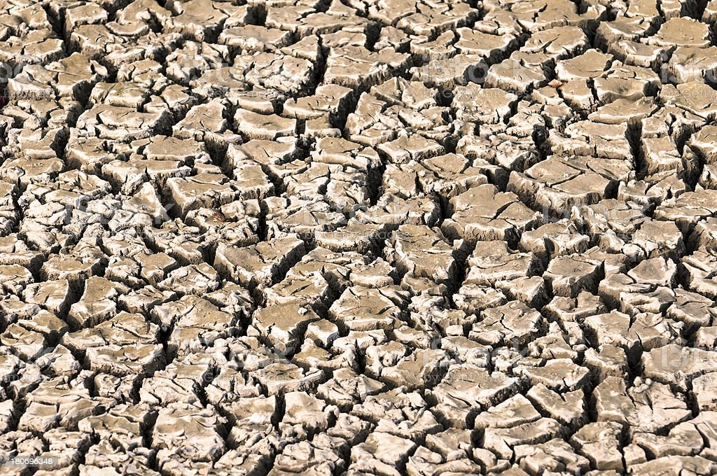 Cracked dry earth background royalty-free stock photo