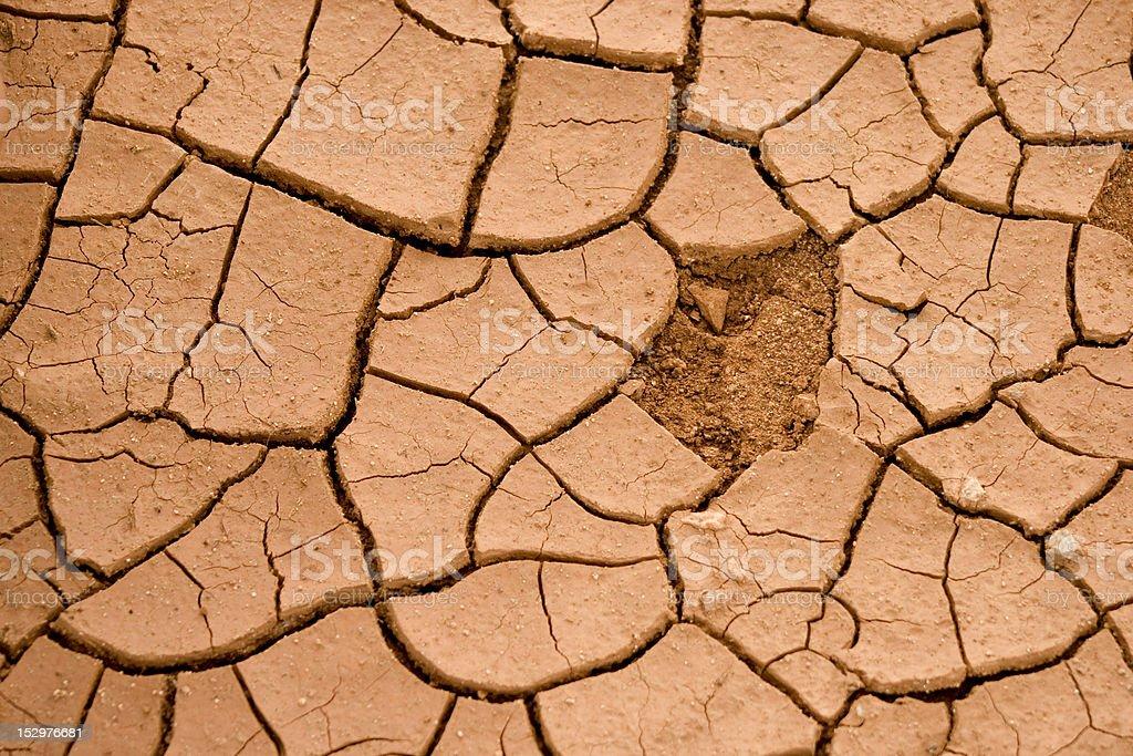 Cracked Dry Ground stock photo