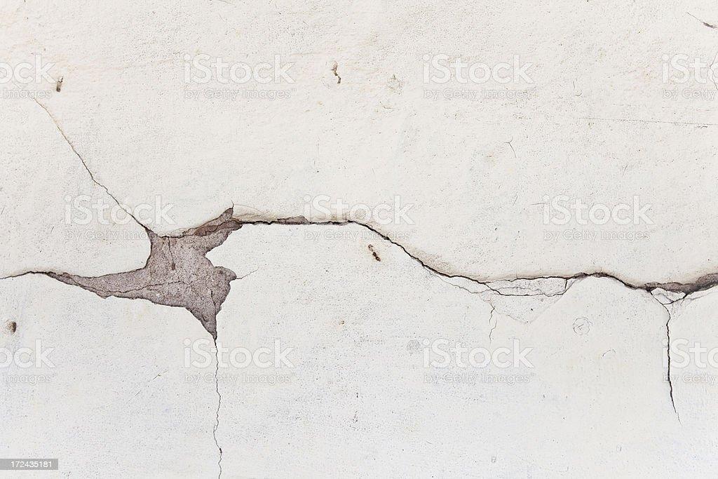 Cracked Drywall Background. royalty-free stock photo