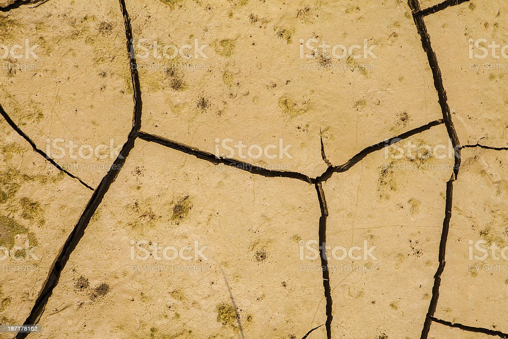 Cracked Earth Background(XXXL) royalty-free stock photo