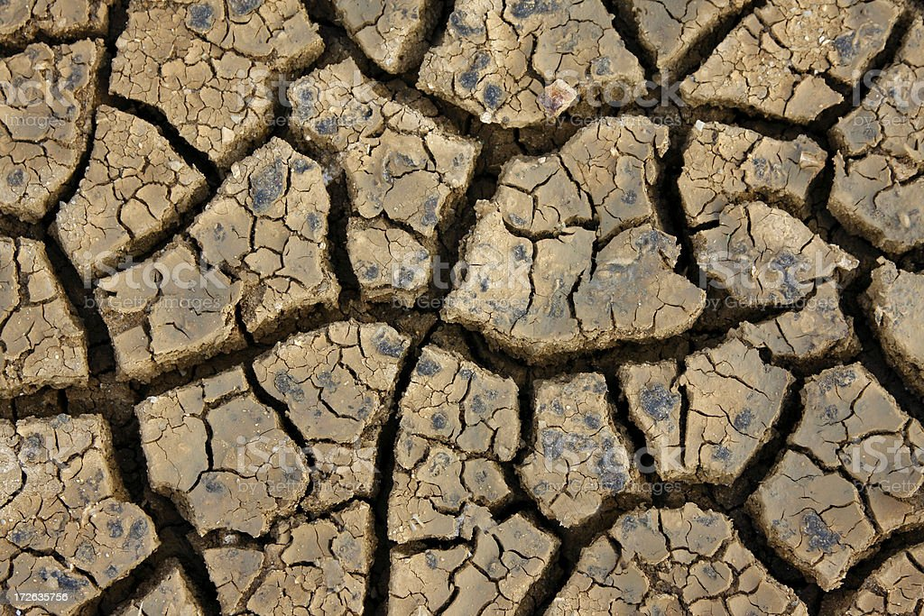 Cracked earth # 2 royalty-free stock photo