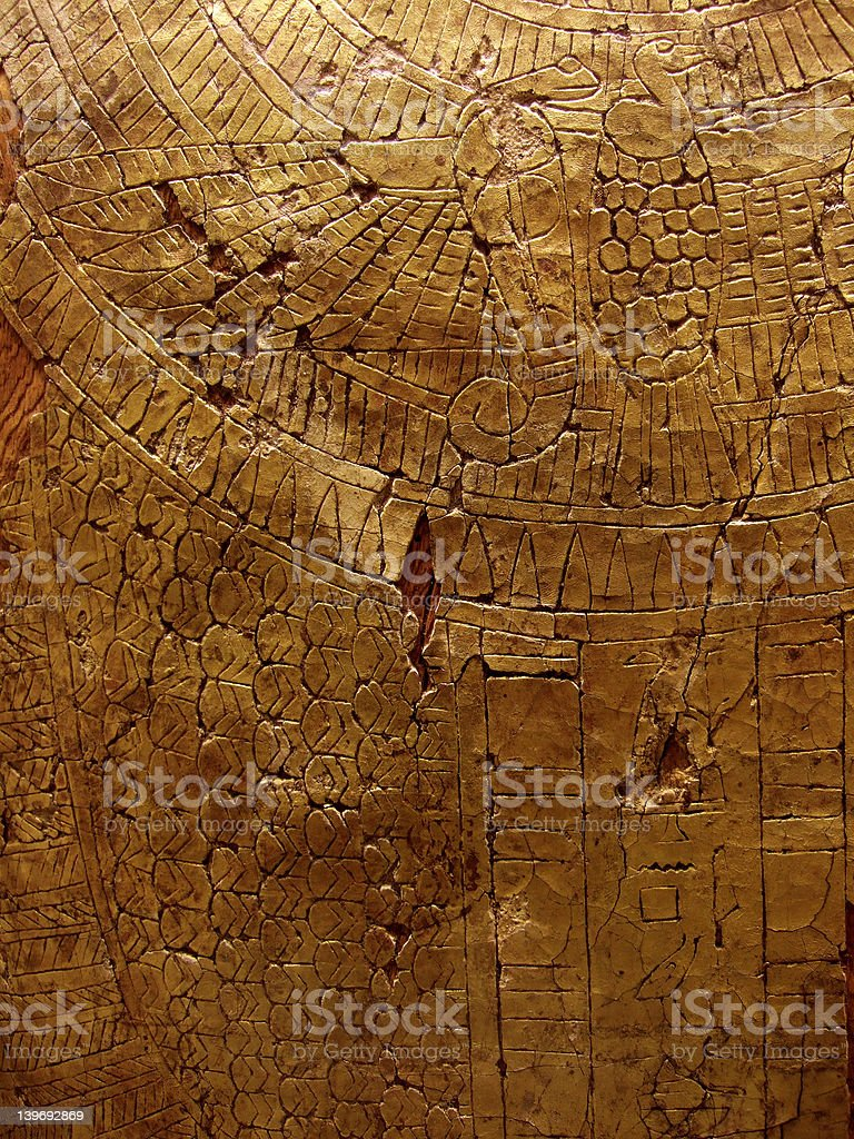Cracked gold texture royalty-free stock photo