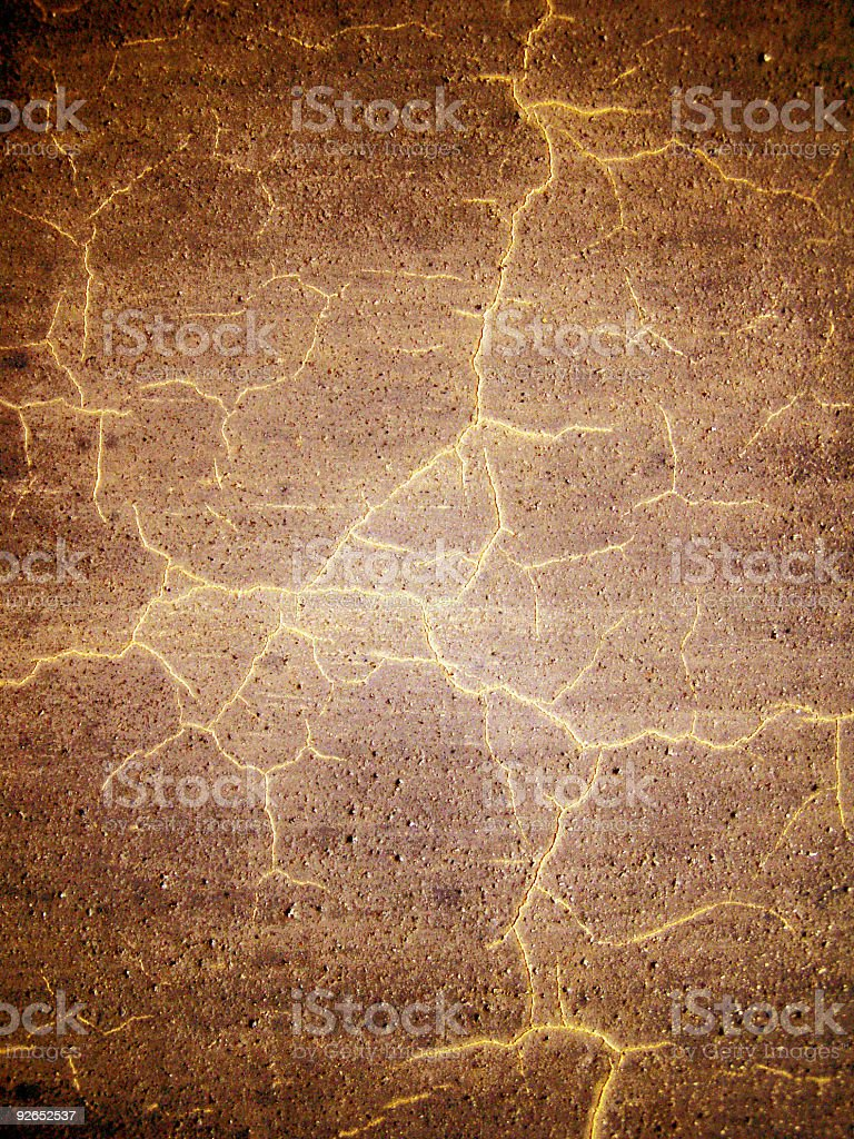 Cracked grunge stock photo