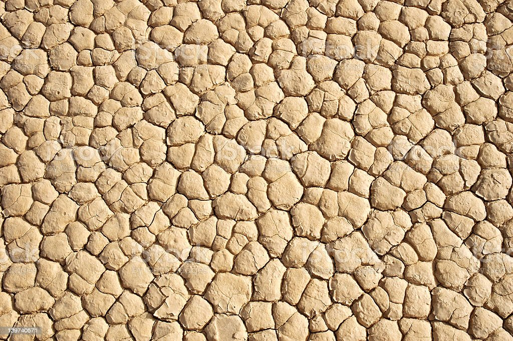 Cracked mud Texture royalty-free stock photo