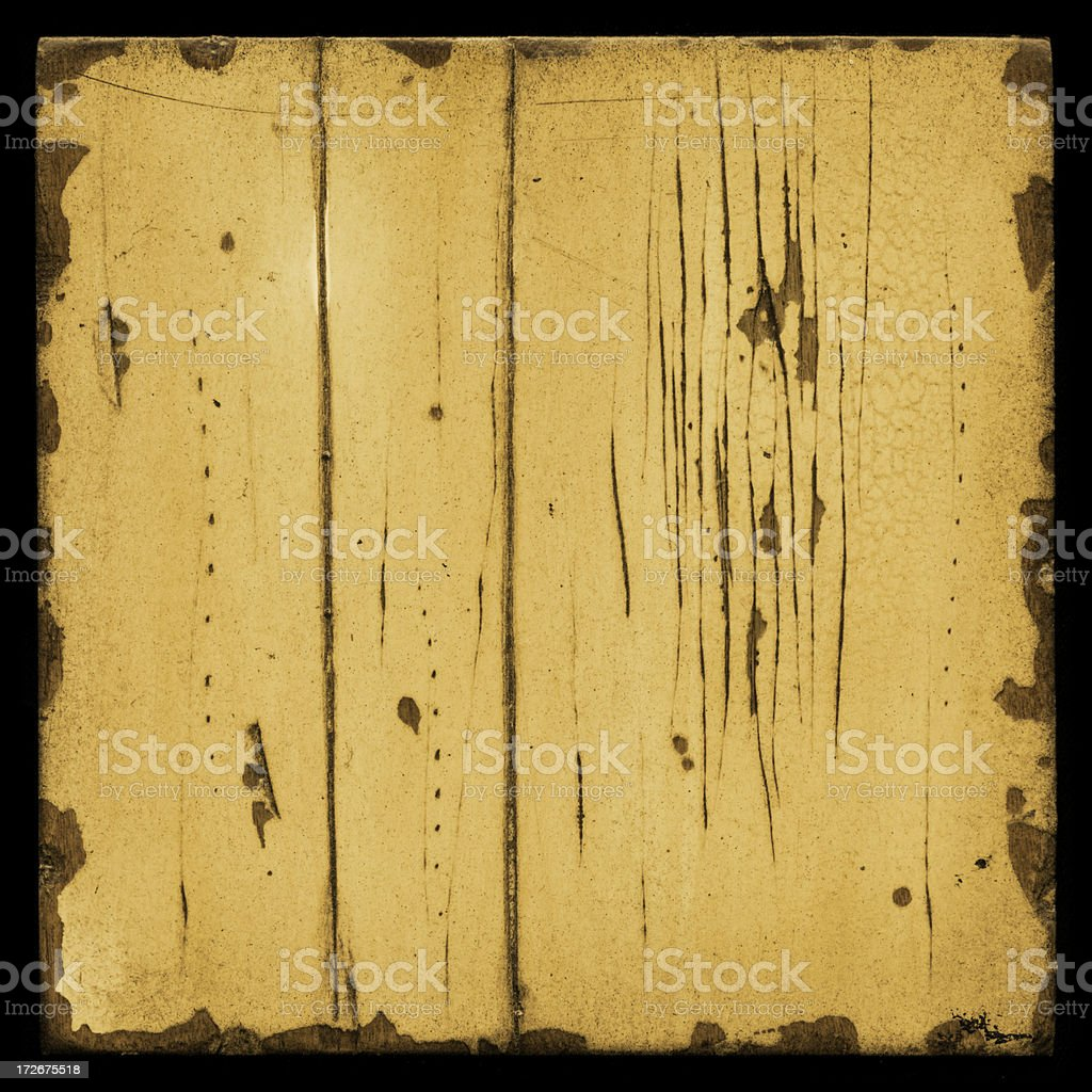 cracked painted wood royalty-free stock photo