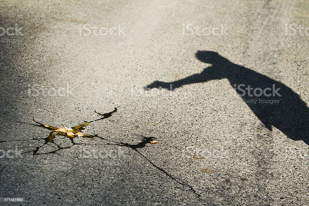 Cracked stock photo