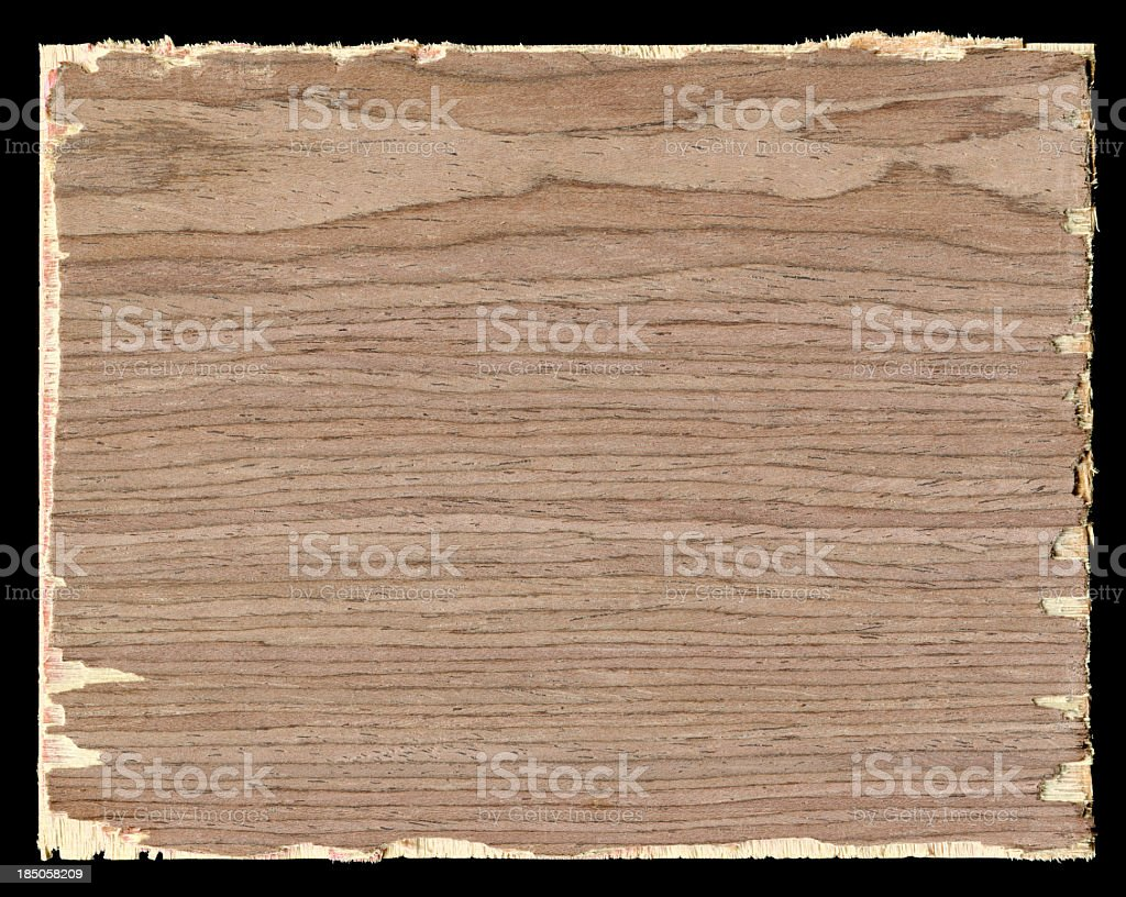Cracked plywood wood textured background royalty-free stock photo