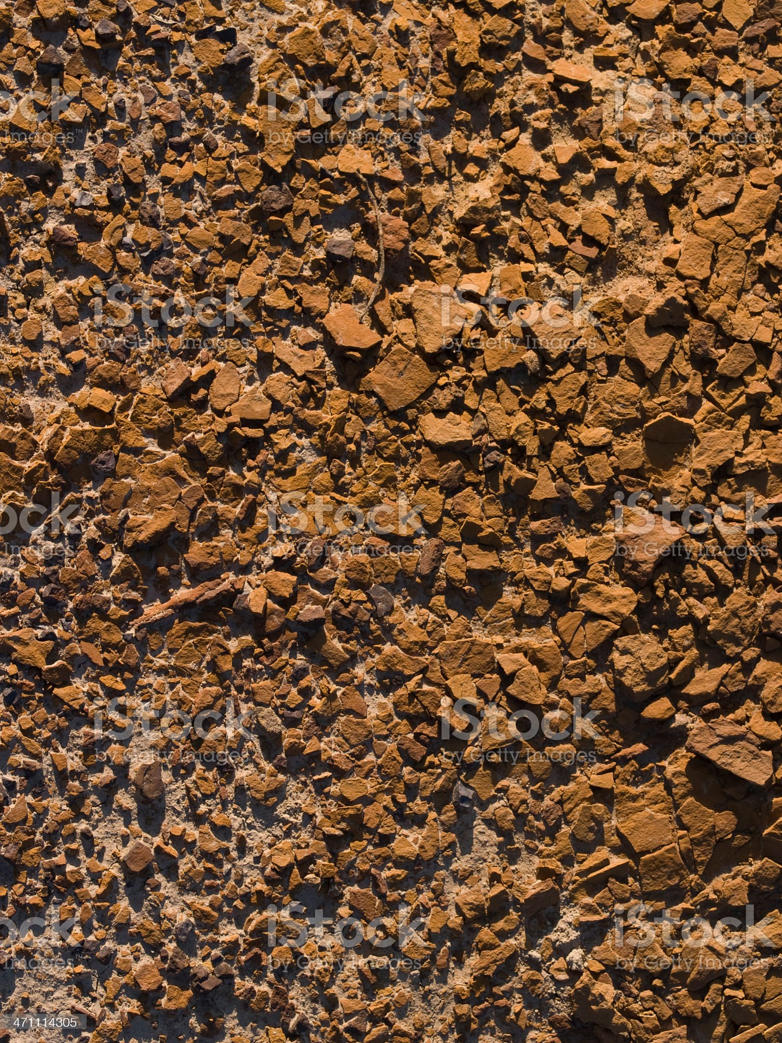 cracked red shale royalty-free stock photo