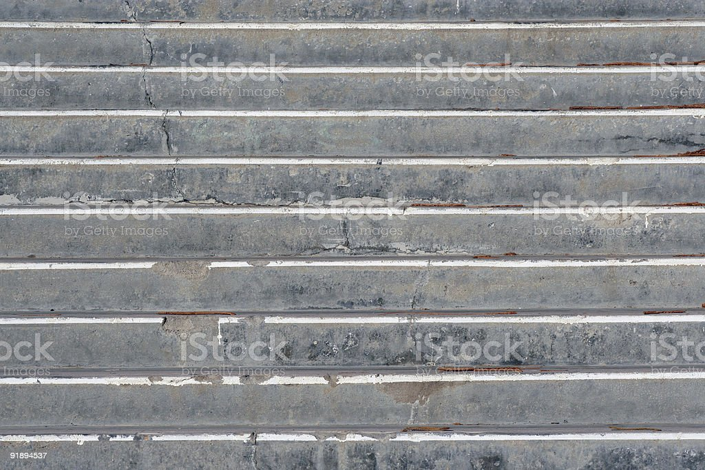 Cracked steps royalty-free stock photo