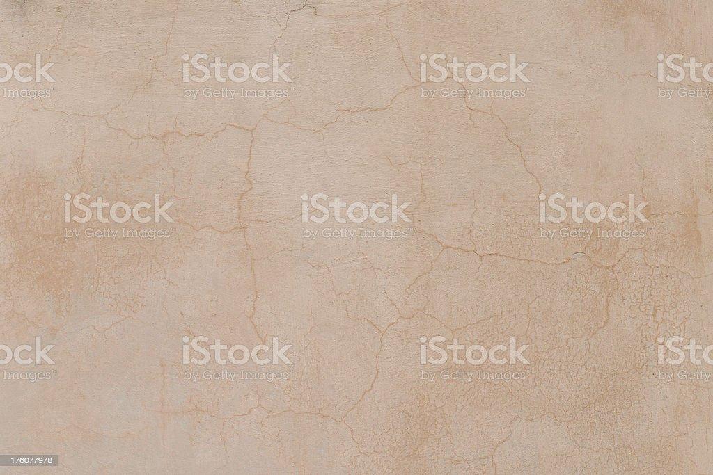 Cracked Stucco royalty-free stock photo