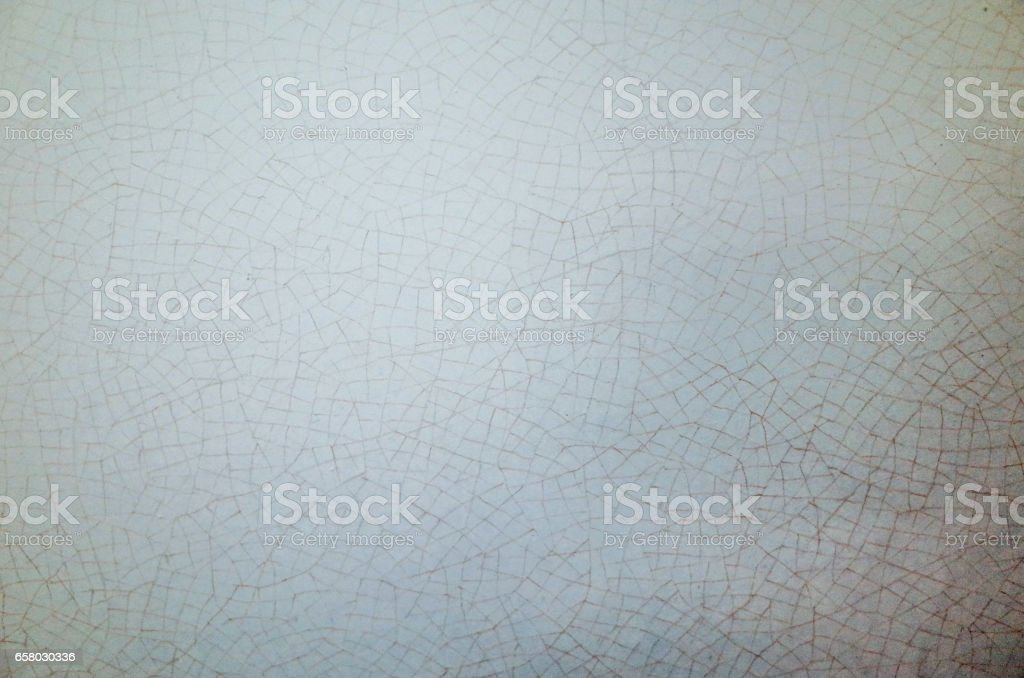 cracked texture of old ceramic pottery stock photo