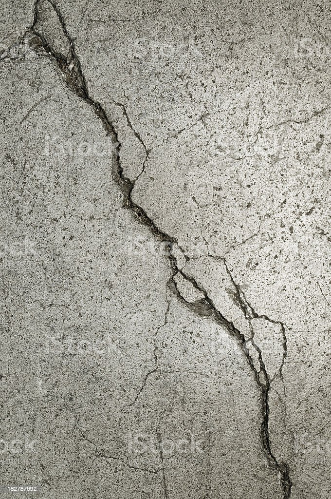 Cracked wall background stock photo