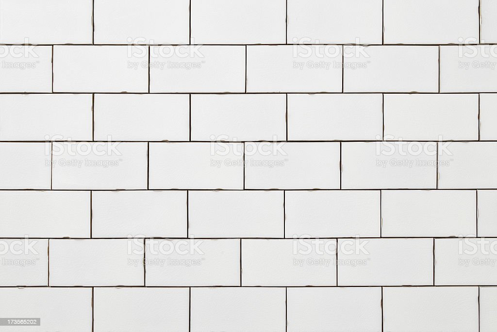 cracked white glass tiles royalty-free stock photo
