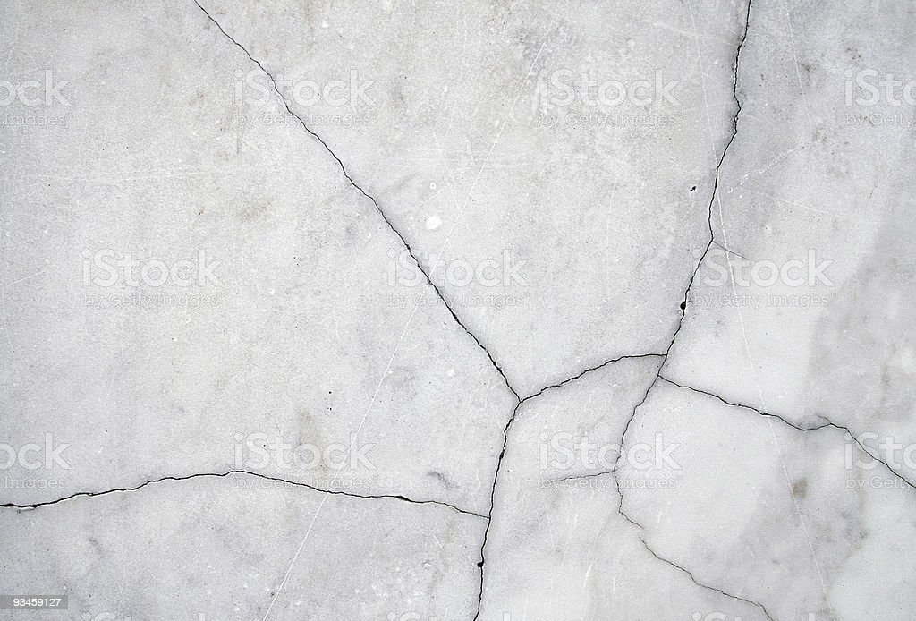 Cracked white marble royalty-free stock photo