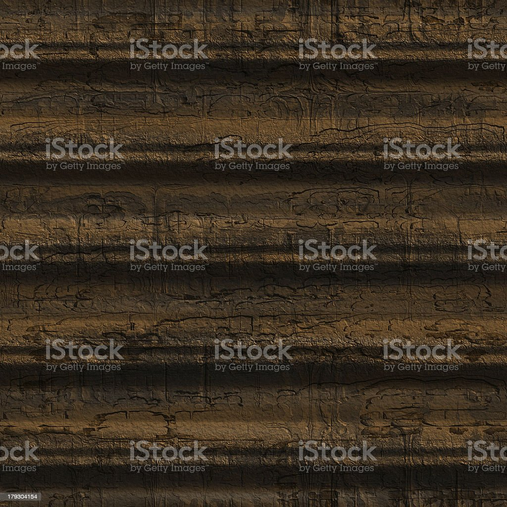 Cracked wood (Seamless texture) royalty-free stock photo