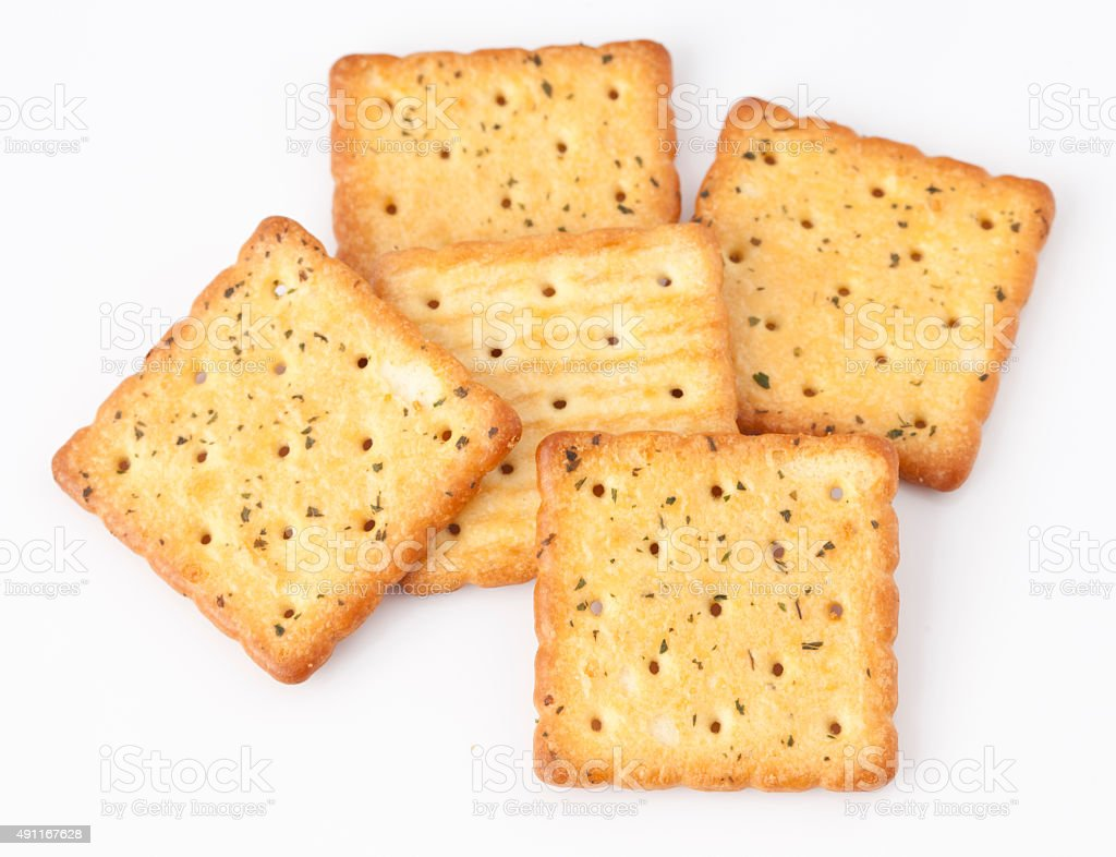 Cracker stock photo