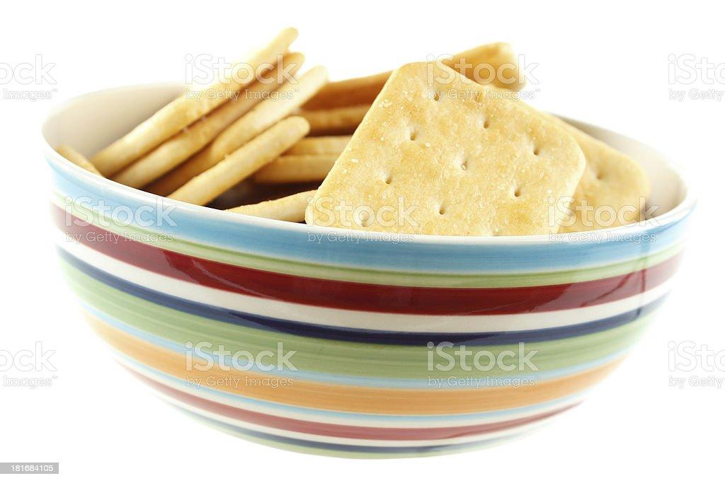 Cracker snacks royalty-free stock photo