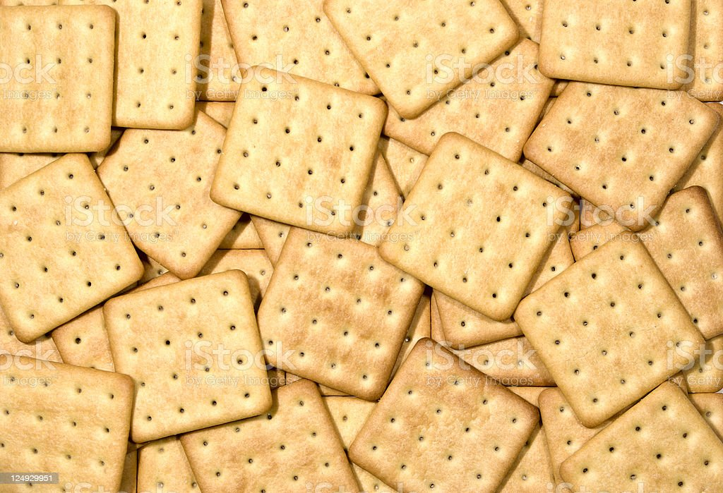 Crackers a mix royalty-free stock photo