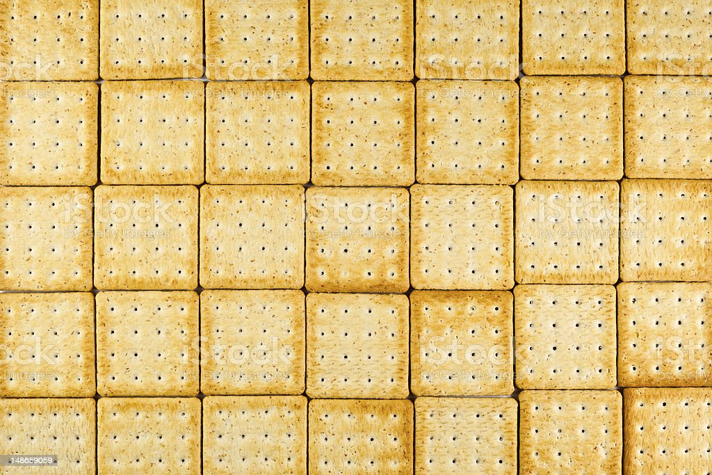 crackers texture royalty-free stock photo