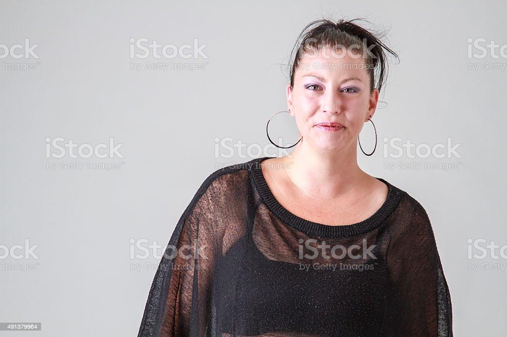 Cracking up stock photo