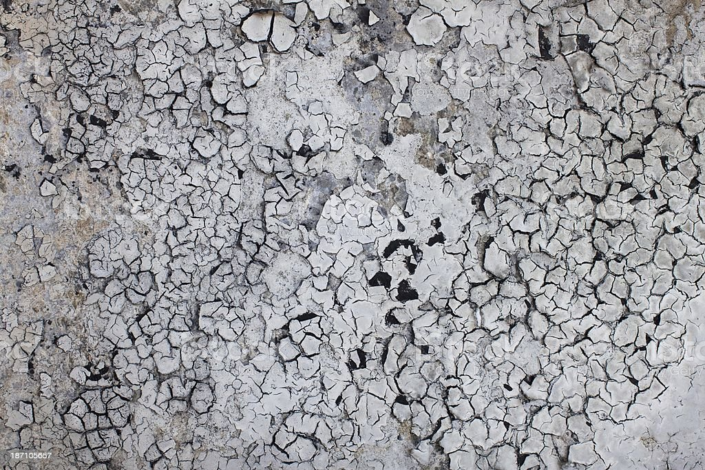 Crackled exterior wall background wallpaper royalty-free stock photo