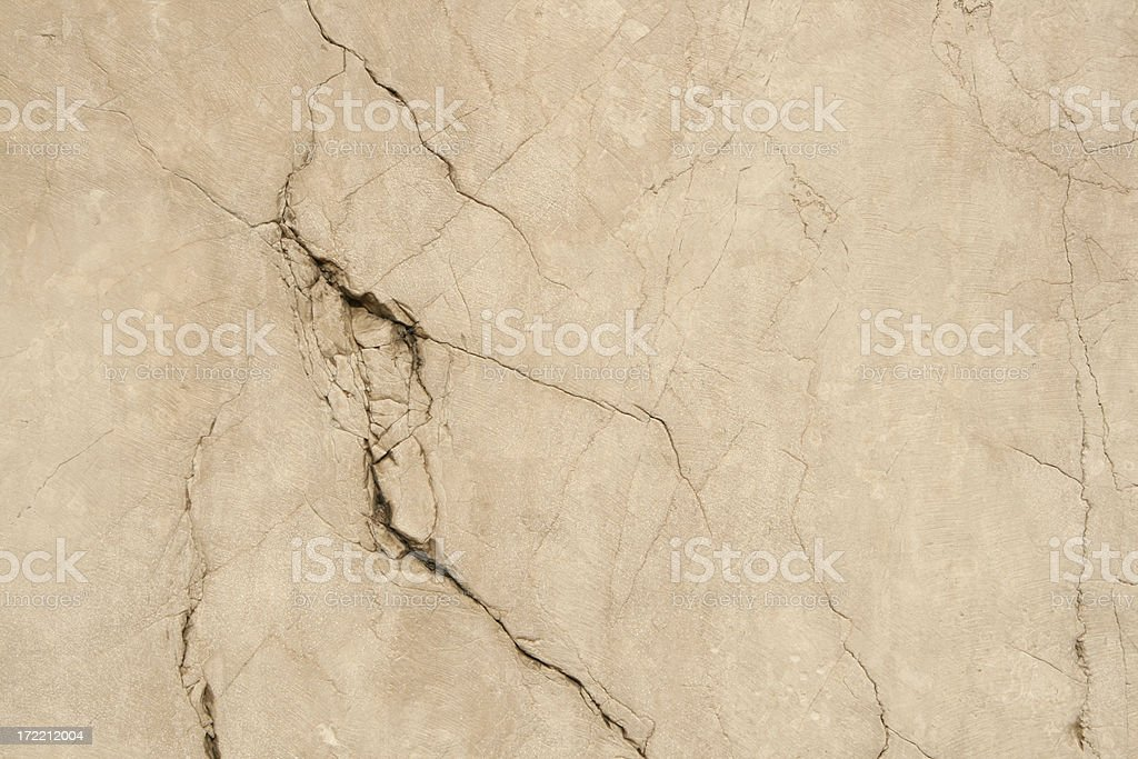 Crackled Roman grunge marble wall texture royalty-free stock photo