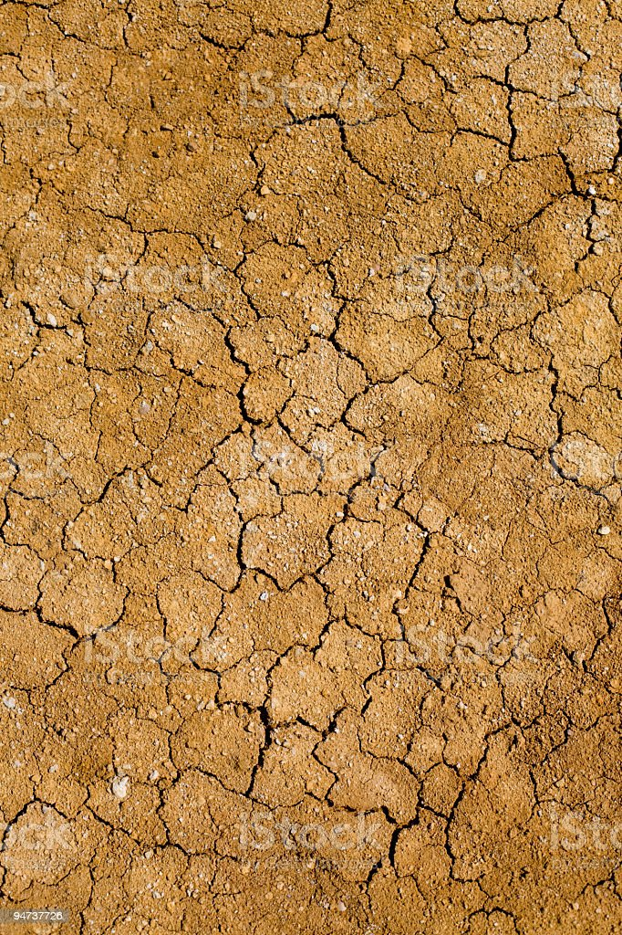 Crackles in the ground (XXL) royalty-free stock photo