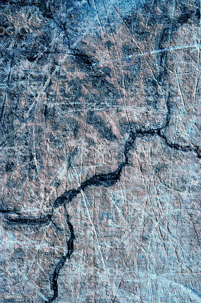 Cracks in wall. royalty-free stock photo