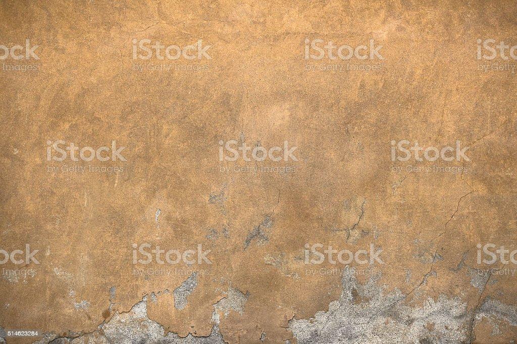 Cracks on the wall stock photo