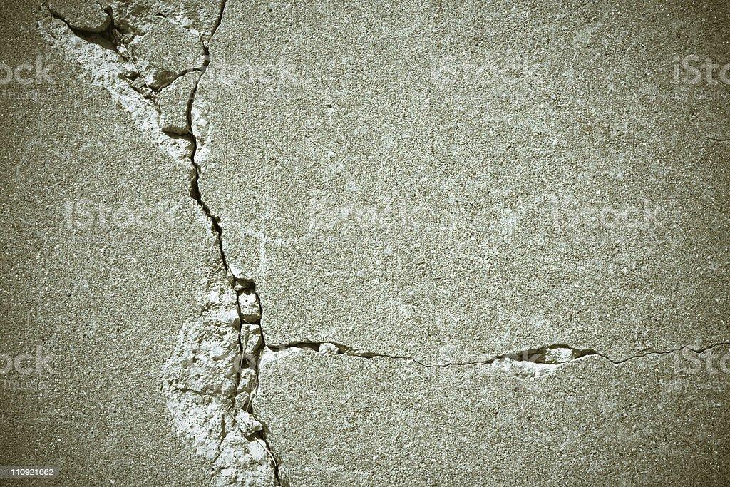 Cracks royalty-free stock photo