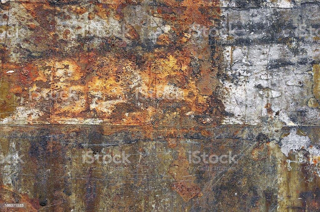 Cracks steel tin abstract pattern vector art illustration