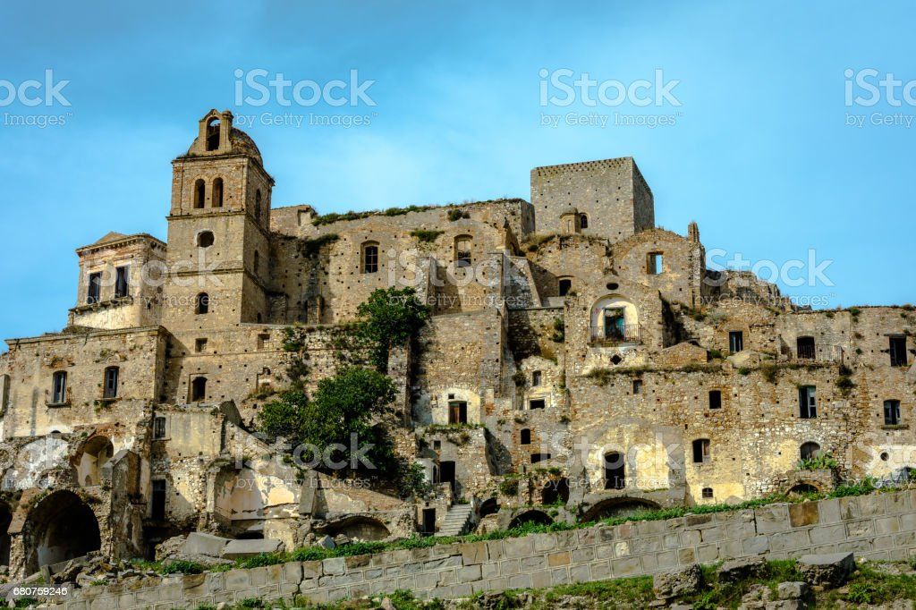 Craco stock photo