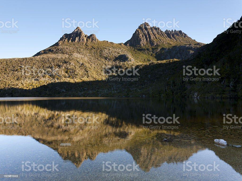 Mont Cradle photo libre de droits