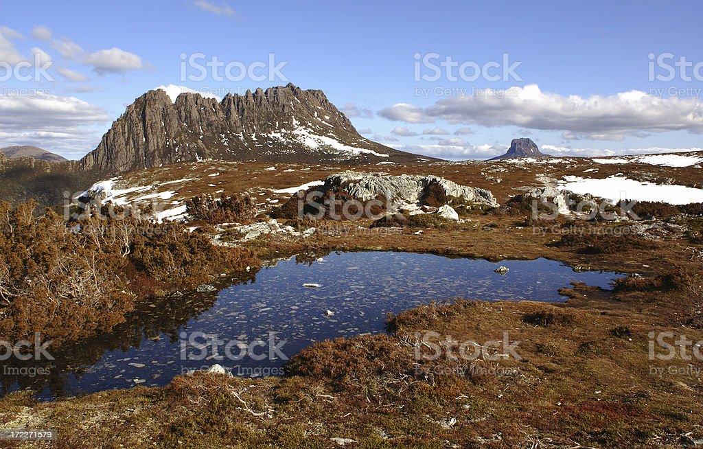 Cradle Mountain stock photo